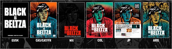 black is beltza all books