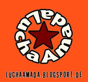 lucha logo orange